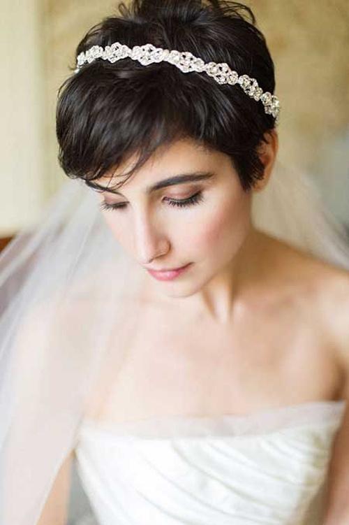 Phenomenal 50 Irresistible Hairstyles For Brides And Bridesmaids Short Hairstyles Gunalazisus