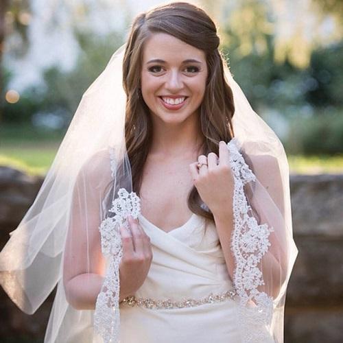 Admirable Half Up Half Down Wedding Hairstyles 50 Stylish Ideas For Brides Short Hairstyles Gunalazisus