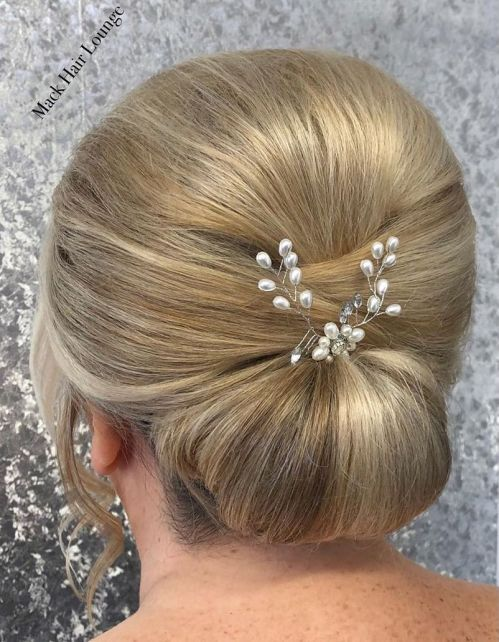 Wedding Hairstyle For Mother Of The Bride