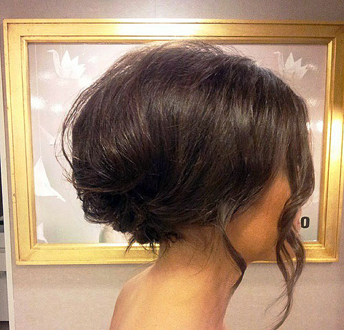 beehive updo for thin hair