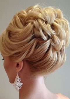 Wedding hairstyles for brides bridesmaids in 2018 therighthairstyle 40 chic wedding hair updos for elegant brides pmusecretfo Images