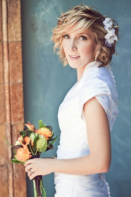 Marvelous Wedding Curly Hairstyles 20 Best Ideas For Stylish Brides Hairstyles For Women Draintrainus