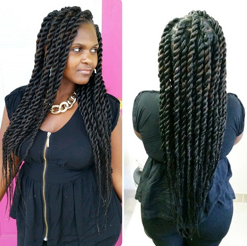 Fantastic 40 Chic Twist Hairstyles For Natural Hair Hairstyle Inspiration Daily Dogsangcom