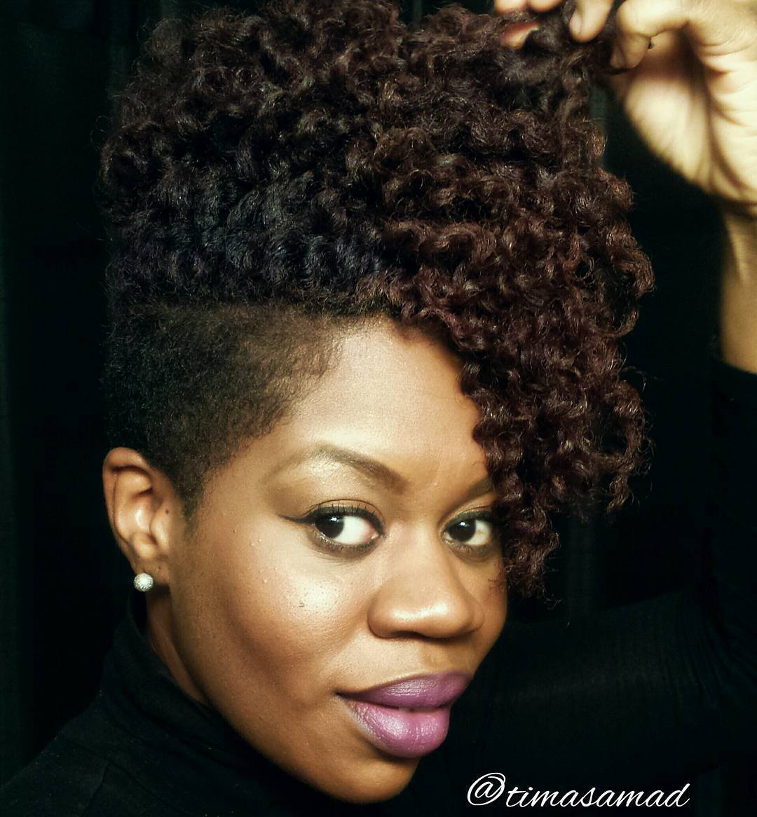 Terrific 40 Cute Tapered Natural Hairstyles For Afro Hair Hairstyles For Women Draintrainus