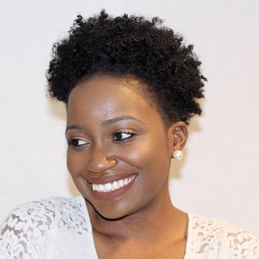 Short Afro Hairstyle For Women