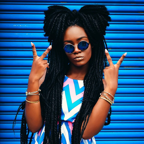 long twists hairstyle