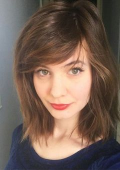 Image Result For Medium Hairstyles With Side Fringe