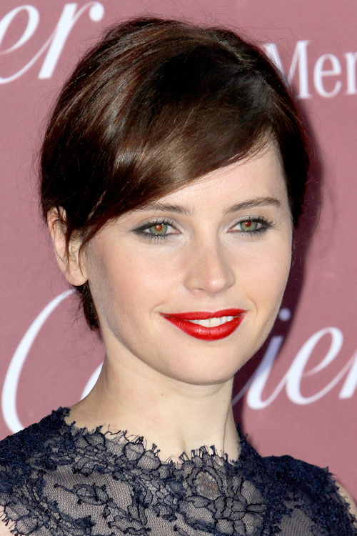 short fringe hairstyle