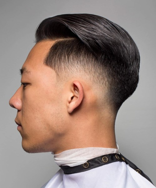 Asian Faded Undercut