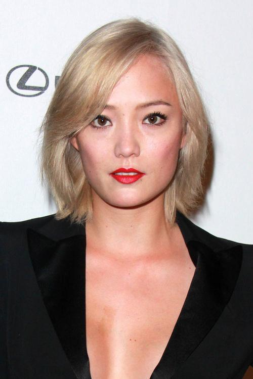 Chinese girl blonde hair
