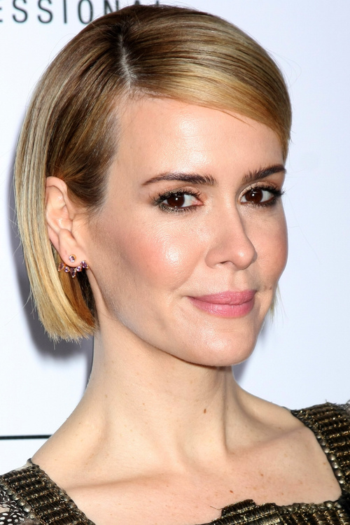 classic blunt bob hairstyle