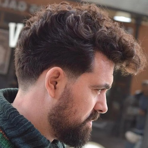 45 Best Curly Hairstyles And Haircuts For Men 2019