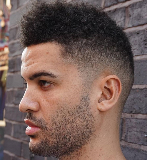 fade for natural hair