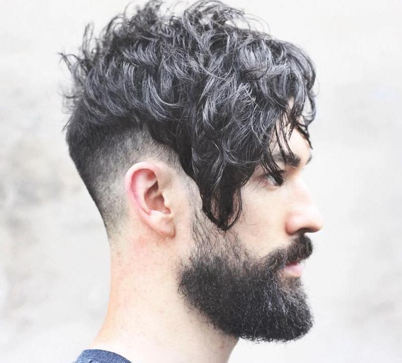 Long Top Fade And Beard