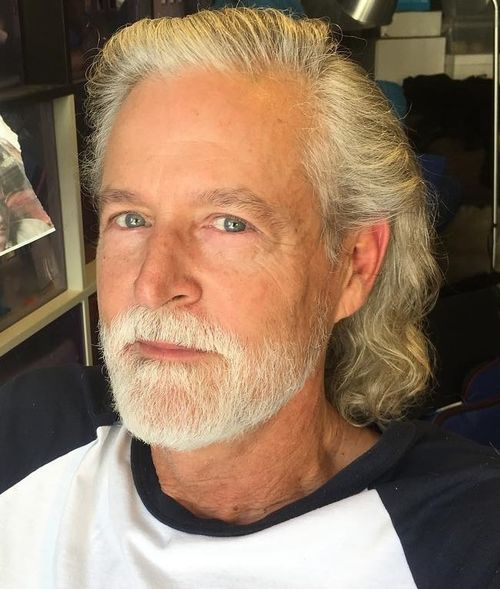 old man long hair styles 45 best curly hairstyles and haircuts for 2019 6385 | 19 medium wavy hairstyle for older men