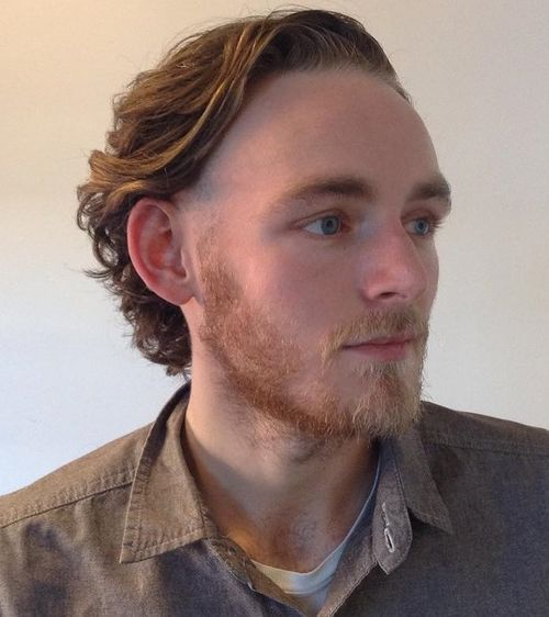 Brushed Back Hairstyles Men: 40 Ideas For Type 2, Type 3 And