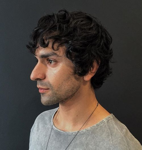 Curly Hairstyles for Men – 40 Ideas for Type 2, Type 3 and ...