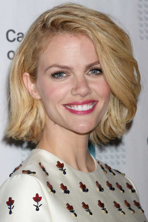 classic A-line bob hairstyle
