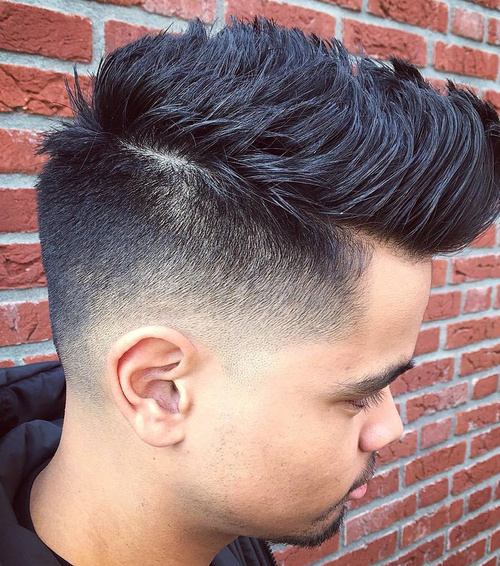 Prime 40 Ritzy Shaved Sides Hairstyles And Haircuts For Men Short Hairstyles Gunalazisus