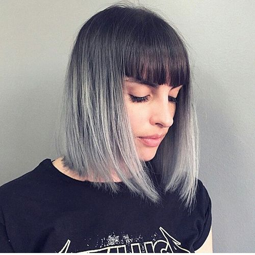 Amazing 40 Classy Short Bob Haircuts And Hairstyles With Bangs Hairstyles For Women Draintrainus