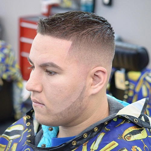 fade haircut for thin hair