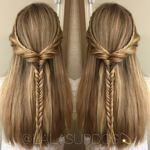 Half Updos For Thin Hair: Updates On 2017 Half Up Half Down Hairstyles: Latest Ideas