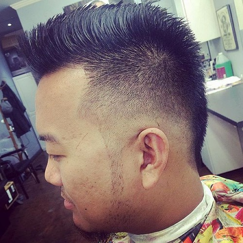 Asian Fade Haircut