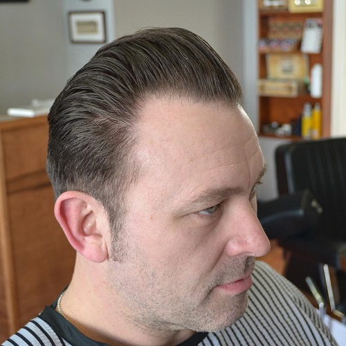 Groovy 40 Stylish Hairstyles For Men With Thin Hair Short Hairstyles For Black Women Fulllsitofus