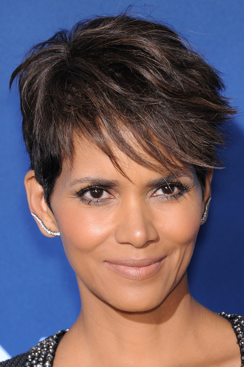 short edgy fringe hairstyle