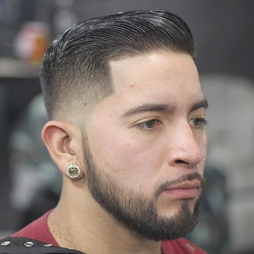 Image result for Taper Fade with Sleek Top.