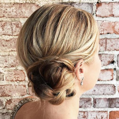 Braided Side Bun For Shorter Hair