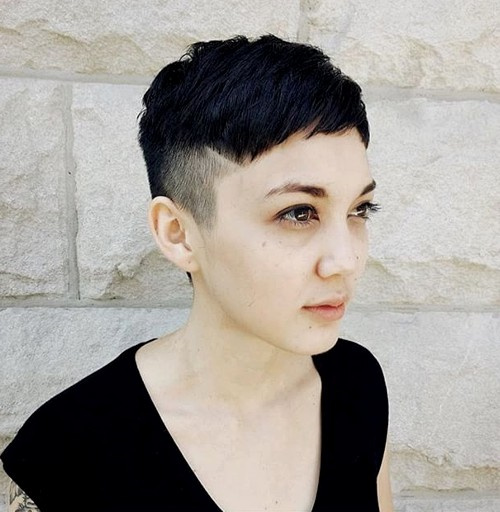 short women's undercut