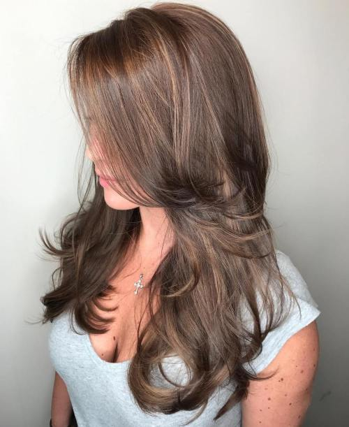 Layered Cut For Long Fine Hair