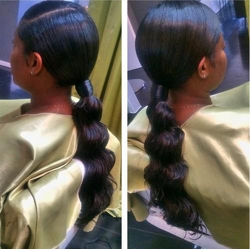 30 Classy Black Ponytail Hairstyles