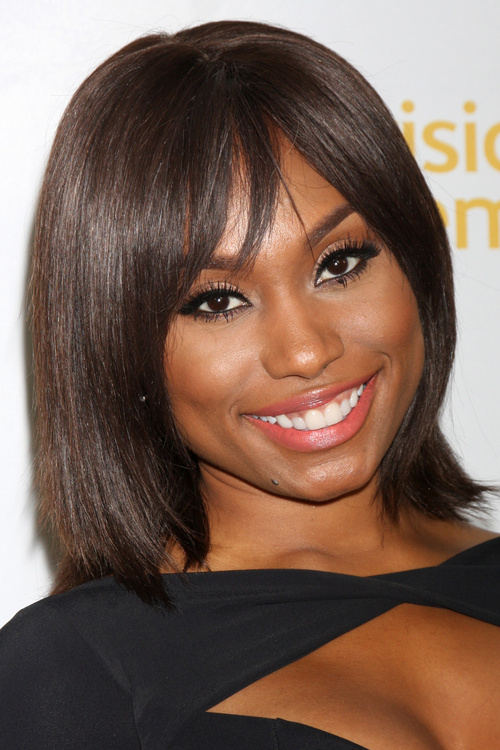 Admirable 20 Black Hairstyles With Bangs Oozing Mismatched Chic Hairstyles For Women Draintrainus