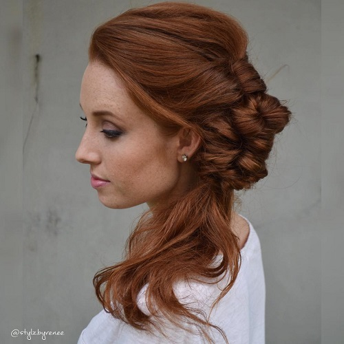 Peachy 40 Side Ponytails That You Will Love Short Hairstyles Gunalazisus