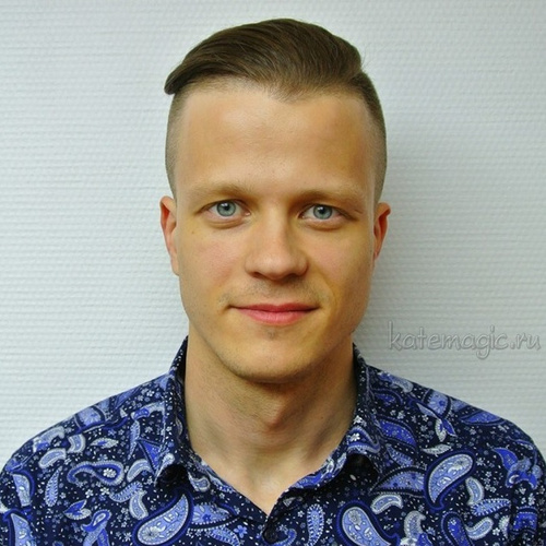 men's undercut hairstyle for oblong face