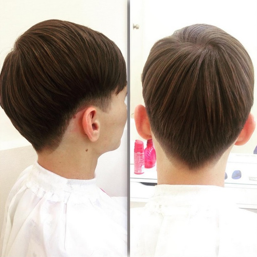 boys' layered haircut