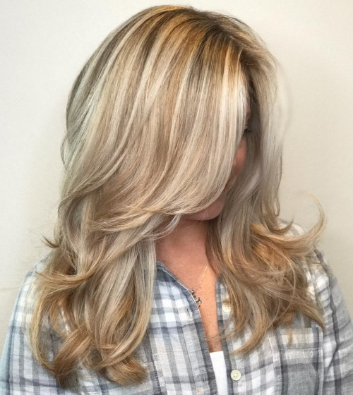 Lovely Layers for Soft Curls