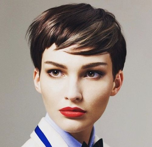 retro pixie hairstyle