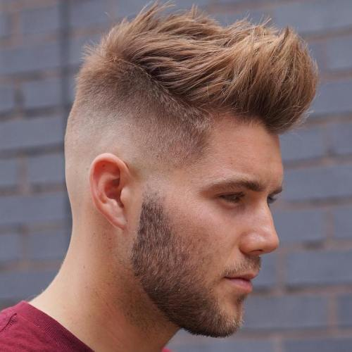 Spiky Top Cut With Skin Fade