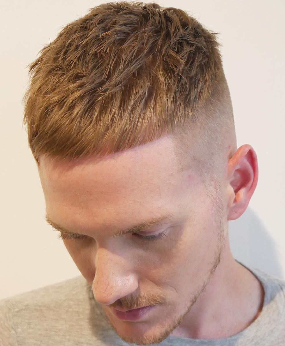 Men\u0027s Short Undercut Haircut
