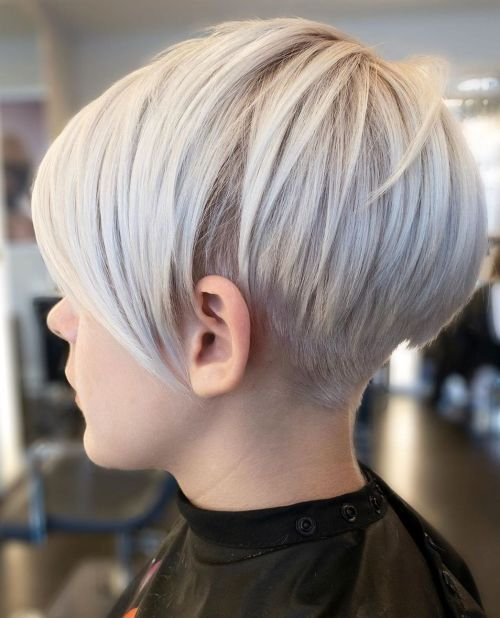 Very Short Undercut Pixie Haircut