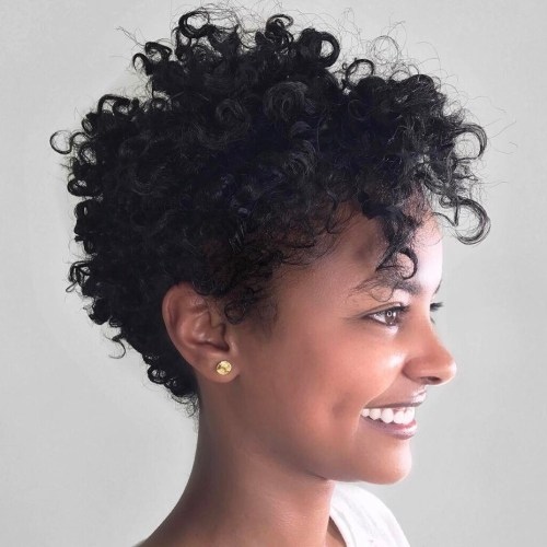 Short Hairstyle For Natural Hair