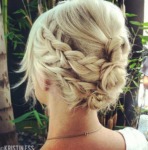 Enjoyable 30 Easy And Stylish Casual Updos For Long Hair Short Hairstyles Gunalazisus