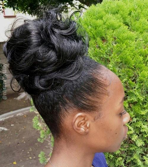 Classic Chignon African American Hair Creativehobbyore