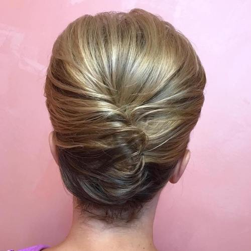 60 updos for short hair your creative short hair inspiration french twist for short hair solutioingenieria Images