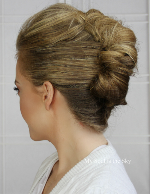 classic french twist updo