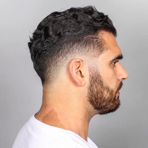 Wavy Hair Fade