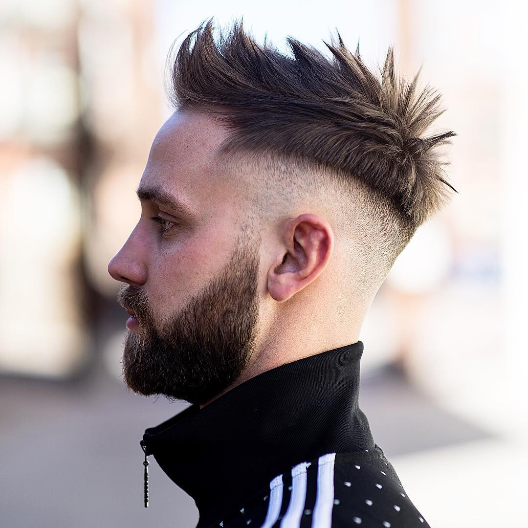 Spiky Undercut Haircut For Men